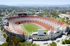 Map Of Los Angeles And Surrounding Areas by The L A Coliseum Features Garrett Leight Glco