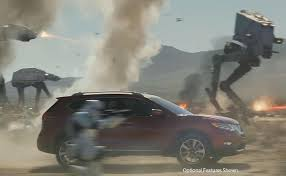 nissan rogue one star wars nissan ad capitalizes on star wars with rogue tie in