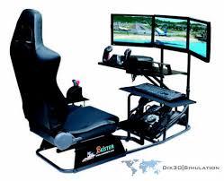 Flight Sim Desk Flight Simulator Game Play Seat Station Dffxq 02