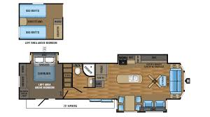 jayco jay flight bungalow 40loft park trailer floor plan