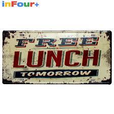 aliexpress com buy free lunch 30 15cm car license plate