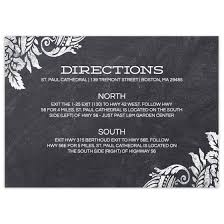wedding invitations details card in bloom wedding invite details flat cards personalized