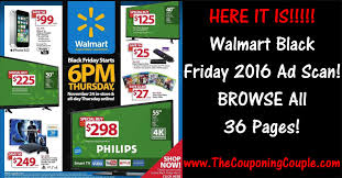 walmart black friday 2016 ad browse all 36 pages