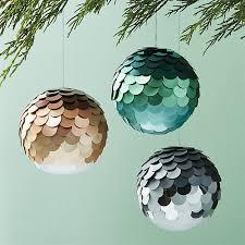 paiette ombre ornaments cb2