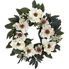 magnolia wreath walmart