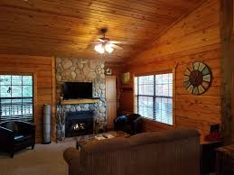 beautiful log home interiors beautiful log cabin at cabins of grand moun vrbo