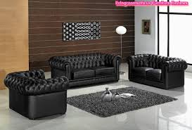 Contemporary Living Room Furniture Chesterfield Sofa Set Design - Chesterfield sofa design