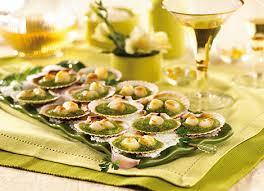 cuisiner les coquilles st jacques surgel s escal recette coquilles jacques farcies aux fruits de mer