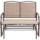 Outdoor Glider Loveseat Amazon Com Ulax Furniture Outdoor Patio Glider Swing Loveseat
