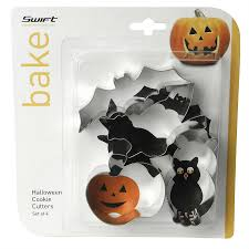 halloween cookie cutters set of 4 robert dyas