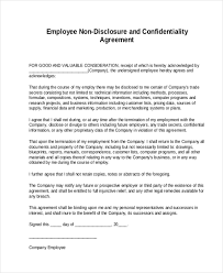 confidentiality agreement hr employee confidentiality agreement