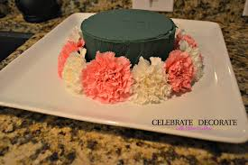 how to make a floral birthday cake celebrate u0026 decorate