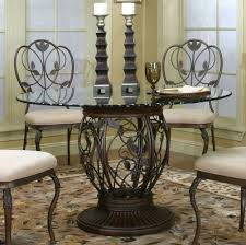 copper top dining room tables stunning wrought iron dining room furniture pictures home design