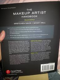 makeup artist book test try results the makeup artist handbook by gretchen davis