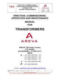 areva 1 transformer relay
