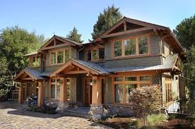 Home Exteriors Lovely Craftsman Home With Paver Driveway Homes Homeexteriors