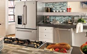 galley kitchen design photo ge appliances