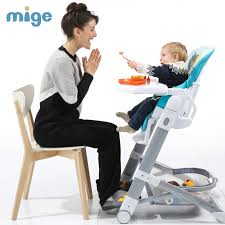 Booster Seat Dining Chair Buy Mige Baby Dining Chair Multifunctional Fold Portable Baby High
