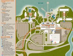 bay lake tower map photo 1 of 1