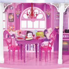 Barbie Dining Room New Barbie Pink 3 Story Dream Townhouse On Lovekidszone
