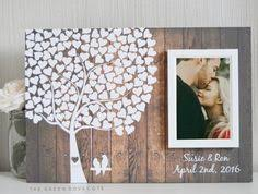 tree signing for wedding wedding signs wedding guest book alternative wood guest book