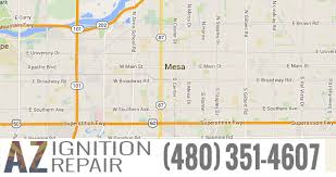 mesa az map get the best ignition repair services in mesa az arizona