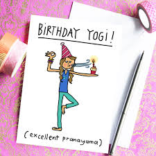 che dyer u2013 birthday yogi greeting card