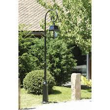 lampadaire de jardin leroy merlin lampadaire extérieur avenue 2 e27 60 w noir roger pradier leroy