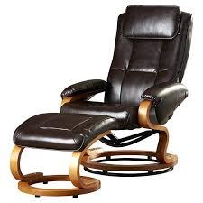 rocker recliner with ottoman leather swivel recliner ottoman querocomprar me