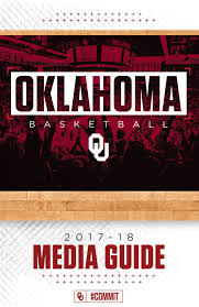 2017 18 oklahoma men u0027s basketball media guide by ou athletics issuu