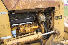 image caterpillar d3 dozer fitted with cat 3204 engineimg 1594