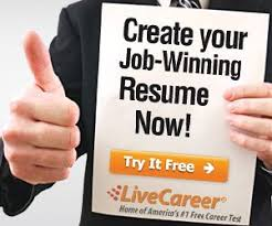 Live Career Resume Builder Free Resume Maker