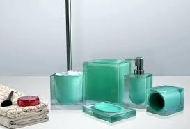 belle lux mirrored bathroom accessories bella mirror rhinestone