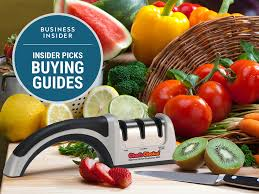 the best knife sharpeners you can buy business insider