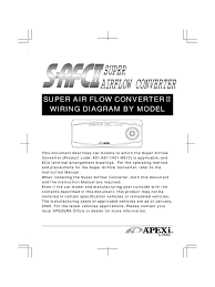 apexi installtion instruction manual safc 2 super air flow