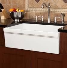 Kitchen Faucets For Farm Sinks Farm Sinks For Kitchens Vintage Kitchen Design With Granite Top