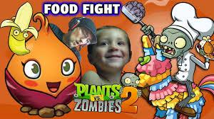 plants vs zombies food fight the sweet potato thanksgiving