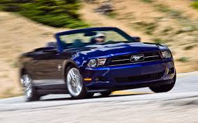 mustang convertible 2012 ford mustang v 6 convertible test motor trend