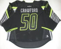 corey crawford nhl all star game fantasy draft night set game