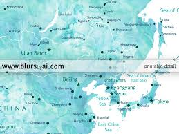 Beijing World Map by Printable Personalized World Map With Cities Capitals Countries