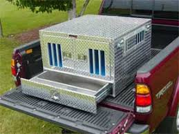 Truck Bed Dog Kennel Dog Transport Boxes Dog Crate Aluminum Boxes And Kennels