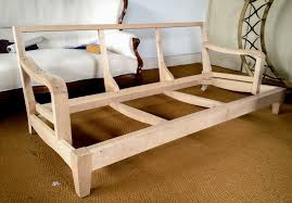 Wooden Sofas How To Upholster A Wooden Sofa Mpfmpf Com Almirah Beds