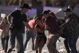 las vegas shooting gunman shot hotel security guard before firing