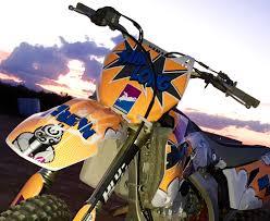 custom motocross bikes gallery custom dirt bike graphics kits
