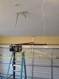 how do you install a garage door opener chamberlain belt drive garage door opener review