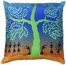 Wholesalers Home Decor by Wholesale Tree Of Life 18 X 18 Inch Cushion Cover Decorative