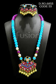 beads design necklace images Fusion beads designer beaded necklace set rs 275 set id jpg