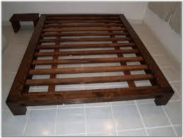 Bedroom Furniture Plans Bedroom Fascinating Platform Bed Frame Queen Plans Home Furniture