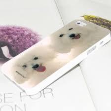 bichon frise iphone 5 case buy little gentleman cartoon baby monkey doll pattern case for