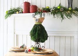 how to make a stylish christmas tree dress centerpiece garden club
